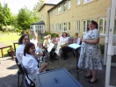 Training Band Playing at Spencer Court