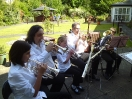 Training Band Playing at Spencer Court_2