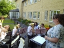 Training Band Playing at Spencer Court_3