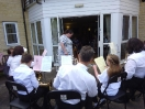 Training Band Playing at Spencer Court_4