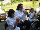 Training Band Playing at Spencer Court_5